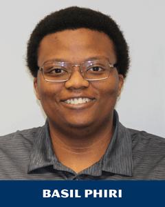 Basil Phiri is one of our team members