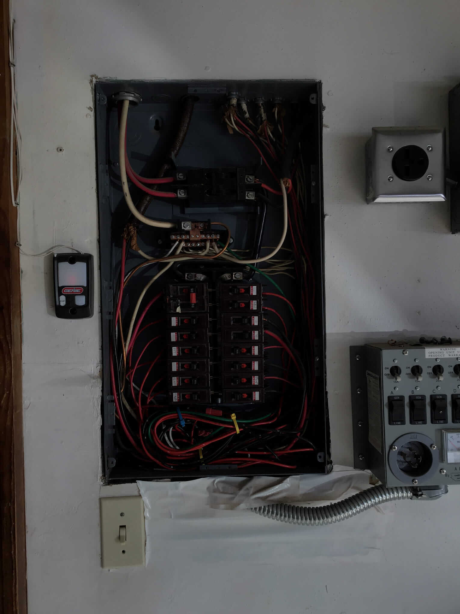 before a 100 amp electrical service upgrade in Indianola